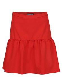 Červená sukně Tommy Hilfiger
