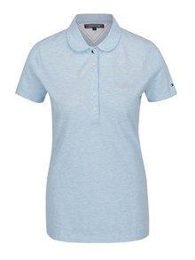 Světle modré dámské polo tričko Tommy Hilfiger