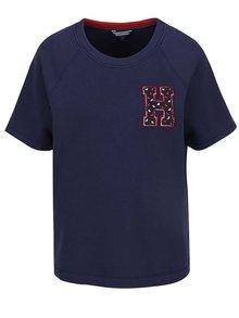 Tmavě modré dámské mikinové tričko Tommy Hilfiger