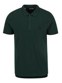 Zelené polo triko Selected Homme Haro