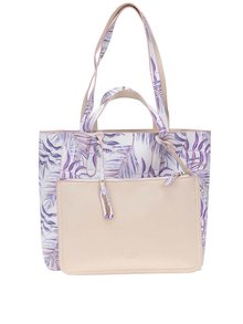 Geanta shopper print floral LYDC
