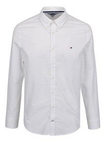 Bílá pánská formální slim fit košile Tommy Hilfiger