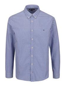 Modro-biela pánska pruhovaná košeľa Tommy Hilfiger