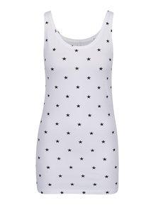 Maiou alb cu imprimeu cu steluțe ONLY Live