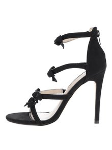 Sandale stiletto negre Miss Selfridge