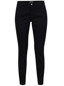 Tmavomodré chino nohavice Selected Femme Ingrid