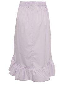 Svetlofialová sukňa s volánmi Miss Selfridge