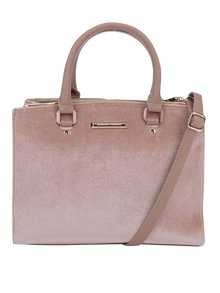 Ružová kabelka s detailmi v zlatej farbe Dorothy Perkins