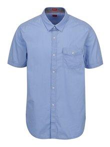 Světle modrá pánská pruhovaná košile s.Oliver