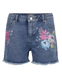 Pantaloni scurți albaștri Dorothy Perkins din denim