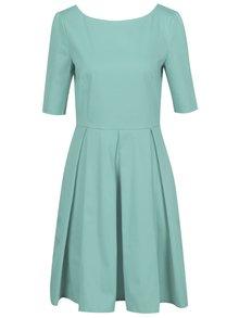 Světle zelené šaty s 3/4 rukávem From Kaya with Love Vintage