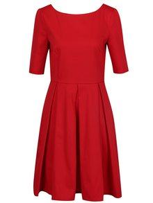 Červené šaty s 3/4 rukávem From Kaya with Love Vintage