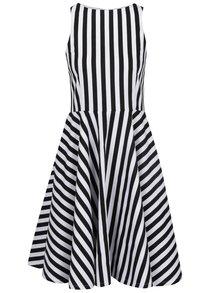 Čierno-biele pruhované šaty From Kaya with Love American