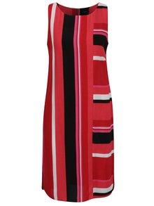 Rochie roșie M&Co cu model în dungi