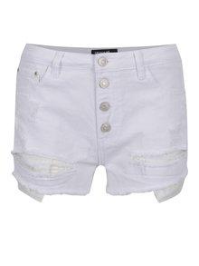 Pantaloni scurți albi Haily´s Gina din denim