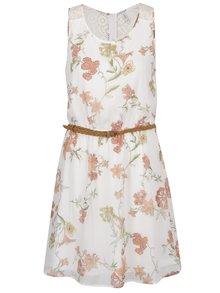Rochie albă cu print fară mâneci ONLY Lia