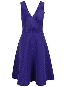 Fialové pruhované šaty Dorothy Perkins