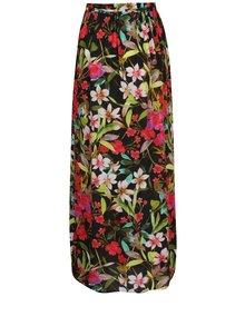 Fustă maxi neagră M&Co cu imprimeu floral