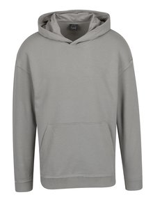 Hanorac gri Jack & Jones Dropped cu glugă