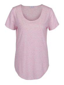 Tricou roz prăfuit lejer Jacqueline de Yong