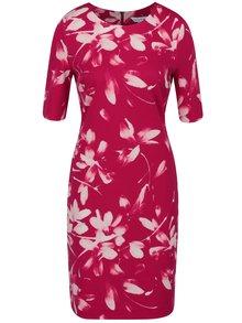 Rochie roșie cu imprimeu floral Dorothy Perkins