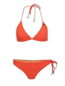 Oranžové dvoudílné plavky Bench