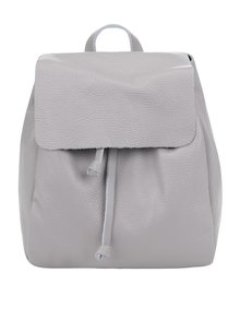 Sivý dámsky kožený batoh ZOOT