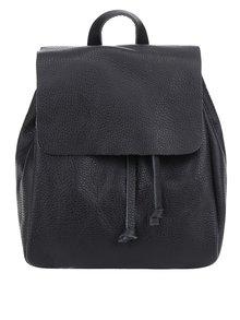 Čierny dámsky kožený batoh ZOOT Simple