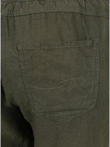 Pantaloni kaki cu amestec de in QS by s.Oliver