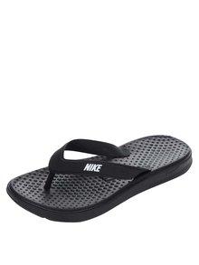 Șlapi negri de damă Nike Solay Thong