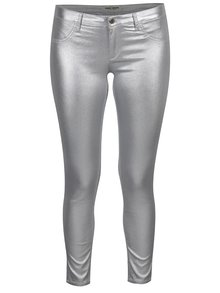 Pantaloni argintii stretch TALLY WEiJL