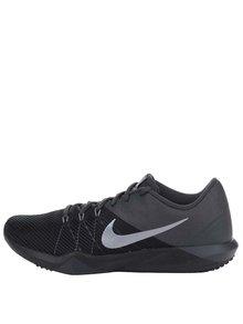 Šedo-černé pánské tenisky s logem Nike Retaliation