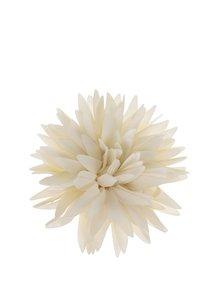 Floare decorativă crem Ju'sto Avorio din textil