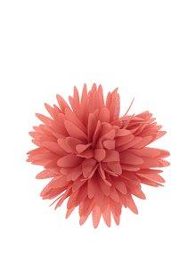 Oranžová textilní květina Ju'sto Salome