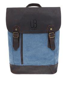 Hnedo-modrý unisex batoh Urban Bag