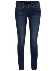 Blugi albaștri Pepe Jeans New Brooke cu aspect prespălat