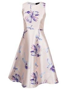 Světle růžové květované šaty bez rukávů AX Paris