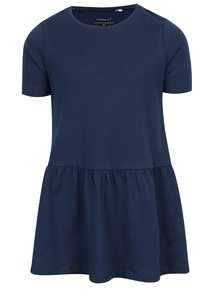 Tmavě modré holčičí šaty s krátkým rukávem name it Vita