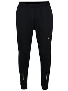 Čierne pánske funkčné tepláky s vreckami Nike