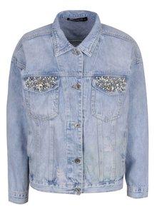 Jachetă albastru deschis Haily's Gina din denim