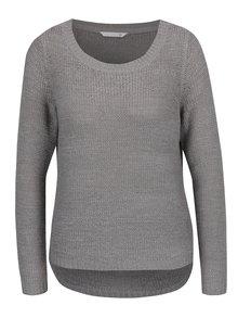 Sivý pletený sveter ONLY Geena