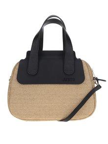 Béžová kabelka s černými detaily Ju'sto J-Poppy