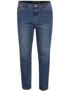 Modré rovné džíny s vysokým pasem Noisy May Liv