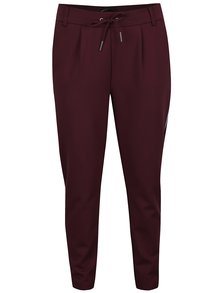 Pantaloni chino visinii cu șiret in talie ONLY Poptrash