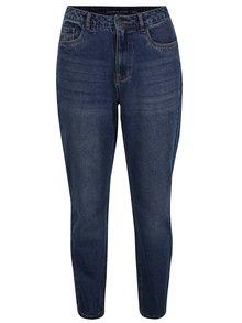 Modré mom džíny s vysokým pasem Jacqueline de Yong