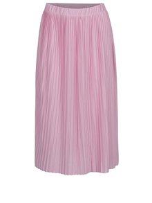 Fustă roz plisată Jacqueline de Yong Dice