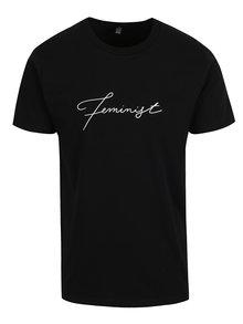Čierne unisex tričko ZOOT Originál Feminist