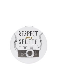Oglidă crem de buzunar cu print CGB Respect