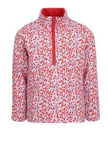 Bluză cu print multicolor si fermoar Tom Joule pentru fete
