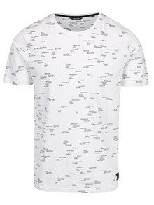 Bílé triko s potiskem ONLY & SONS Anker